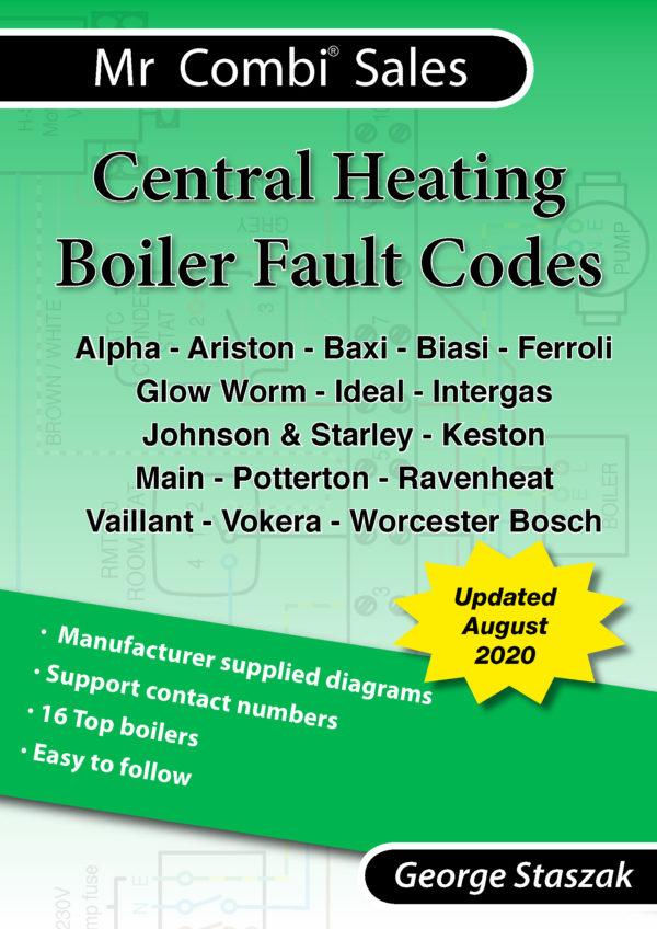 Central Heating Boiler Fault Codes Book