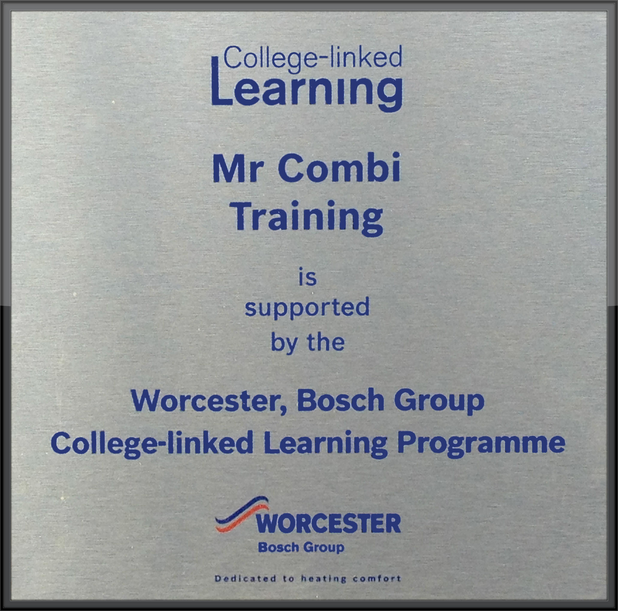 Worcester Bosch College-Linked Learning